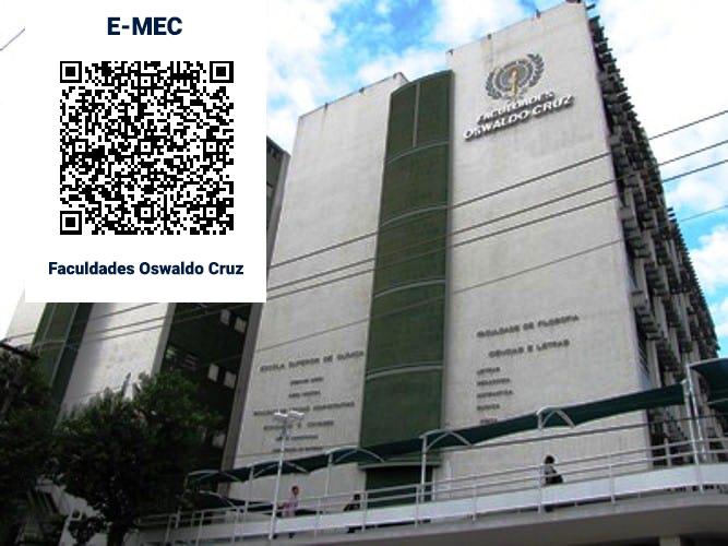 Predio da Faculdade Oswaldo Cruz